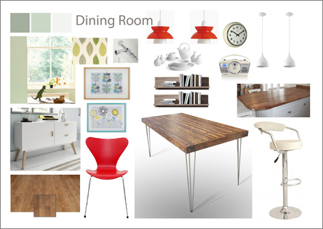 Dining Rooom mood board